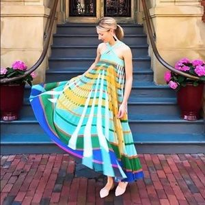 Anthropologie Abstraction Maxi Dress